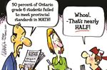 Today's cartoon: Math scores don't add up